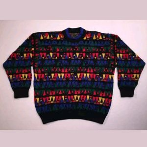 Coogi Australia Men's MINT Geometric Sweater, XL